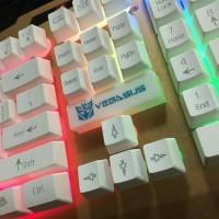 Keyboard Vegasus K11 Metal Gaming K-11 Game Rainbow