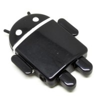 Android Robot MP3 Player TF Card With Small Clip.