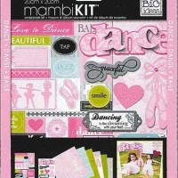 Mambi Kit - Dance Scrapbook Kit 12 x 12