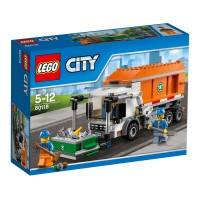 LEGO City-60118 Garbage Truck Set Building Town Driver Toy Minifigures