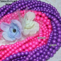 Smooth Pearl 6mm BAHAN AKSESORIS GELANG KALUNG