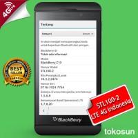 harga Blackberry Z10 Stl100-2 Hitam Lte 4g Garansi The One Tokopedia.com