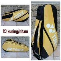 Tas Raket Badminton Bulutangkis Yonex R3 Murah