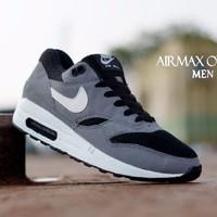 Aneka Sepatu Terlaris Sepatu Nike Air Max One Abu List Putih Size 40-4