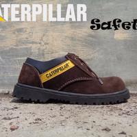 Koleksi Sepatu Promo Sepatu Caterpillar Safety Boots Pendek Kalio Warn