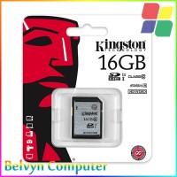 Kingston 16GB SDHC Class 10 UHS-I 45MB/s SD Card Memory Camera