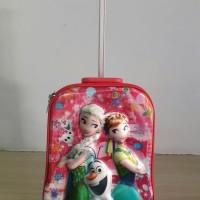 harga Tas Trolly Anak Sd Gambar Frozen Pink Trolley 5d Timbul Koper Troli Tokopedia.com