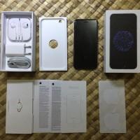 IPhone 6 64GB Space Gray FU Fullset Mulus Garansi Resmi IBox Mei 2017