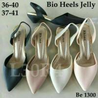 Jelly Shoes Bio Heels Murah