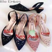 Sepatu Sendal Jelly Shoes Lentur Bio Emboss Cewek Wanit Limited