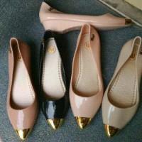Sepatu Jely Jelly Shoes Wanita Cewek Captoe Jelly Pucuk Murah