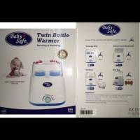 harga Baby Safe Twin Bottle Warmer Pemanas Susu Alat Steril Botol Tokopedia.com