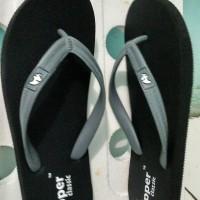 Fipper Classic Cowok Abu / Sandal Jepit / Sendal Jepit / Sandal Fipper