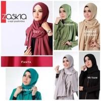 Jilbab Pastan Aesya Jersey Mix Sifon / Hana Alesya / Alesya2