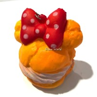 Squishy Mickey Mouse Tart Roti Bread Miki Mose Pita Ribbon Cupcake