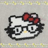 hama beads hello kitty (big)