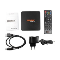 harga MEGABOX Athena Android TV Box [Quad Core/RAM 2GB/Internal 8GB] - Hitam Tokopedia.com