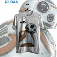 BB8 Kaos Starwars Printed in Gildan Shirt