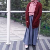 Cardigan Tumblr Series Maroon - Sweater - Cardigan - Outerwear