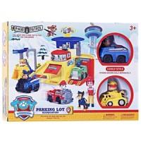 Mainan Anak Paw Patrol Parking Lot Headquaters Rubber Chase Figure D