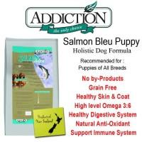 ADDICTION SALMON BLEU PUPPY 9KG DOG FOOD MAKANAN ANJING PET FOOD