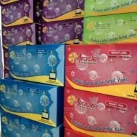 Pembalut Herbal Pantyliner E-Miracle (1box)