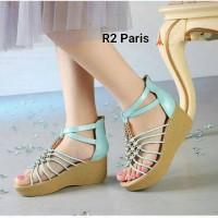 Wedges Pesta / Heels Kerja / Sepatu Casual Wanita Grosir Sepatu Murah