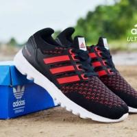 Sepatu Adidas UltraBoost Man Hitam Merah