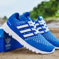 Sepatu Adidas UltraBoost Man Biru Putih