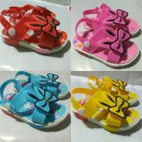 Jelly Shoes Premium Kids Bunny Ribbon - Sepatu bayi - Sepatu anak