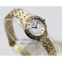 Seiko Ladies SXDG76P1 Quartz Gold Plated Bracelet | Jam Wanita SXDG76