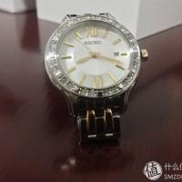 Seiko Ladies SXDG73P1 Quartz Two Tone Bracelet | Jam Wanita SXDG73