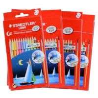 pensil warna luna staedtler pensil cat air water color pencil lukis