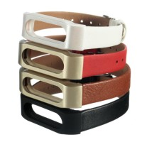 harga Miband 2 / Mi Band 2 Strap Leather-metal Belt - Xiaomi Miband 2 Oled Tokopedia.com