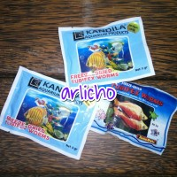Makanan Ikan Cacing Kering Tubifex Worm