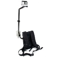 TMC Waterproof Monopod Selfie Backpack Mount System for GoPro / Xiao