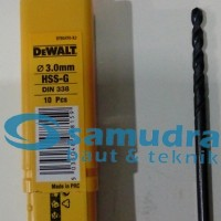 DEWALT 3 Mm Mata Bor Besi HSS-G Drill 3mm