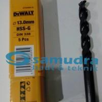 DEWALT 13 Mm Mata Bor Besi HSS-G Drill 13mm