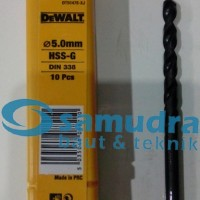 DEWALT 5 Mm Mata Bor Besi HSS-G Drill 5mm