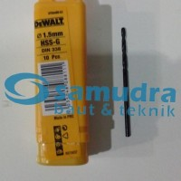 DEWALT 1.5 Mm Mata Bor Besi HSS-G Drill 1,5mm