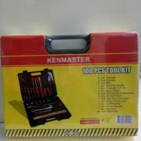 100 Pcs Tool Kit KENMASTER Polos Perkakas Rumah Tangga