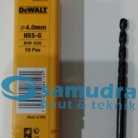 DEWALT 4 Mm Mata Bor Besi HSS-G Drill 4mm