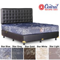 Springbed Central Grand Deluxe - Bianca Oscar 160x200 (StarBlue)