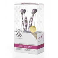 ChicBuds Arts Earbuds With Microphone - Camille