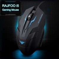 Jual Beli Gaming Mouse Rajfoo I5 Optical Wired USB 1600 DPI Baru | M