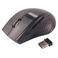 Jual Beli MCStore Mouse Wireless Optical 2.4G AUE - M0131 - Black Ba