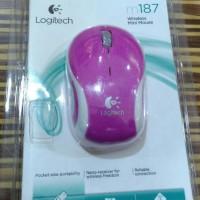 Jual Murah MOUSE WIRELESS MINI LOGITECH M187 D2612 Baru   Mouse Komp