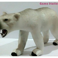 Figure Big Wild Animal Binatang Buas Besar Polar Bear Beruang Kutub