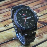 jam tangan swiss army Pria Berkualitas Etalase Umat / jtr 692