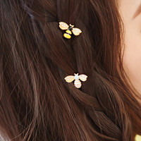 Jepit Rambut Lebah Import Korea Bee Hairpin- FAS033